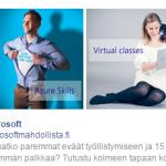 Microsoftille ohjelmistokehittäjäksi